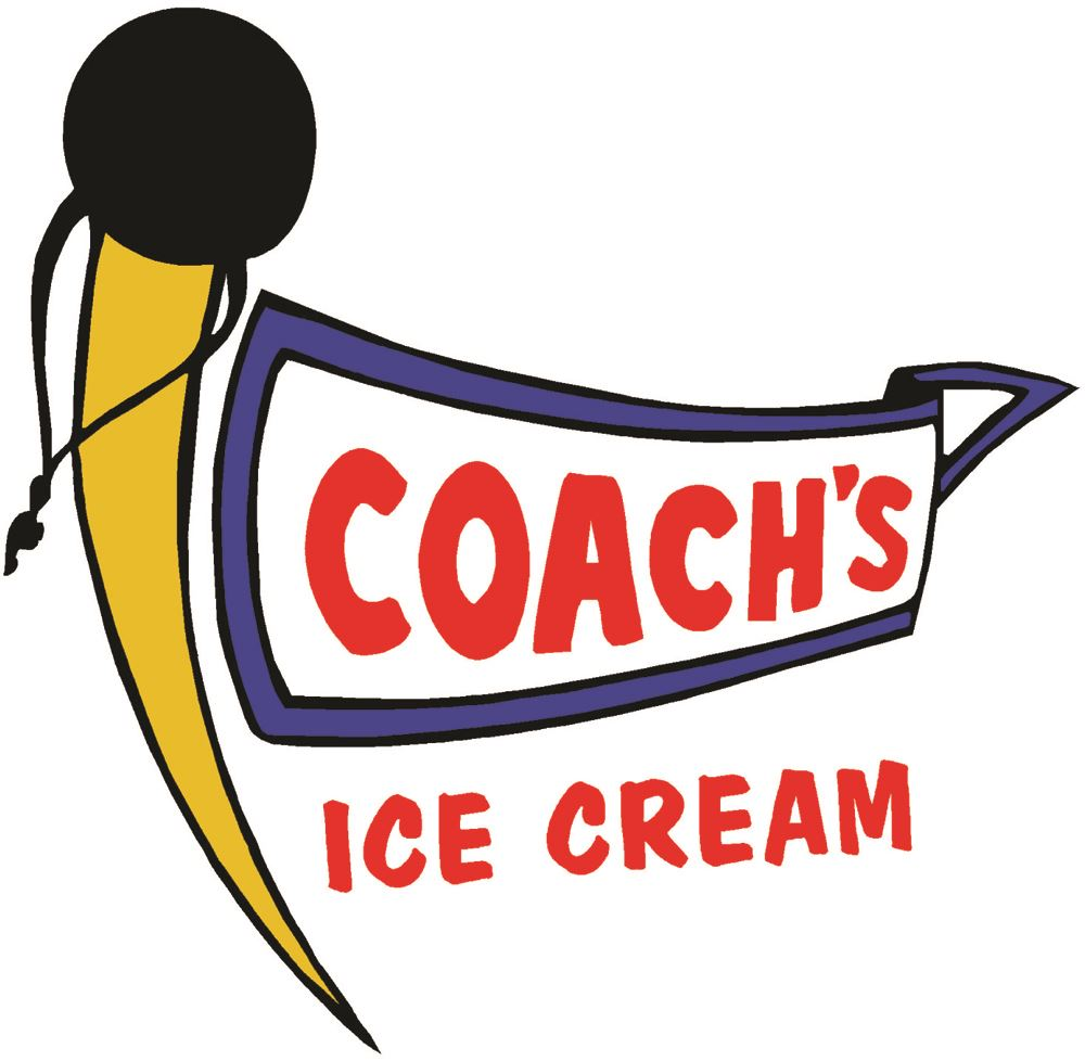 Coachs Ice Cream Logo