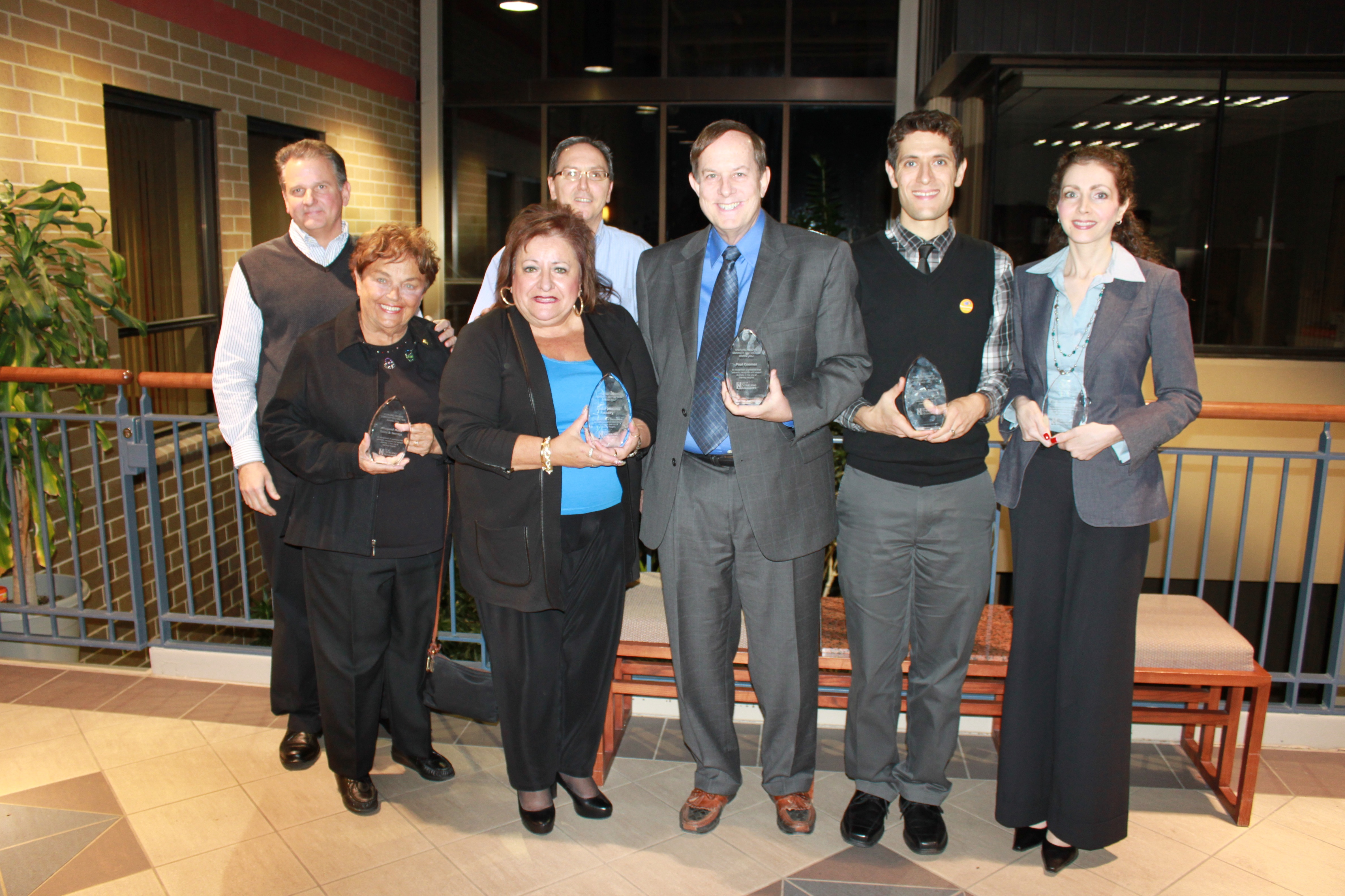 2012 Diversity Distinction Award Honorees