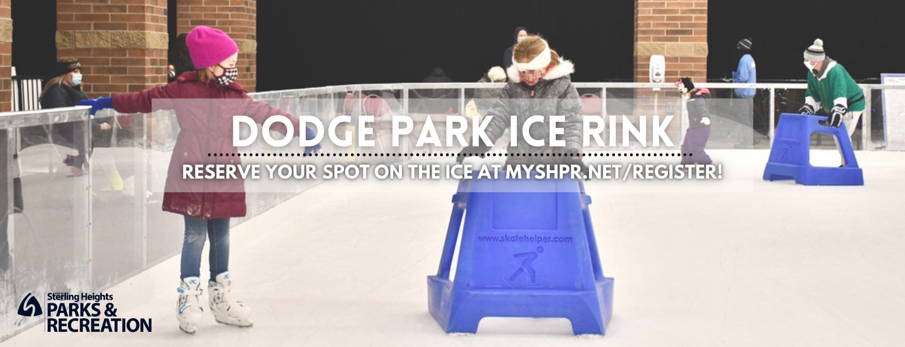 Ice Rink Website Page